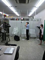テレビCM撮影