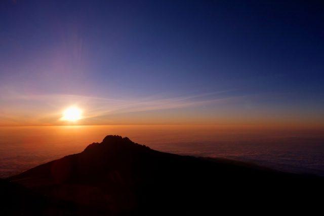 キリマンジャロの山あい