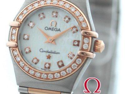 近所の質屋さんで10万円と言われたオメガの時計 <span  class=