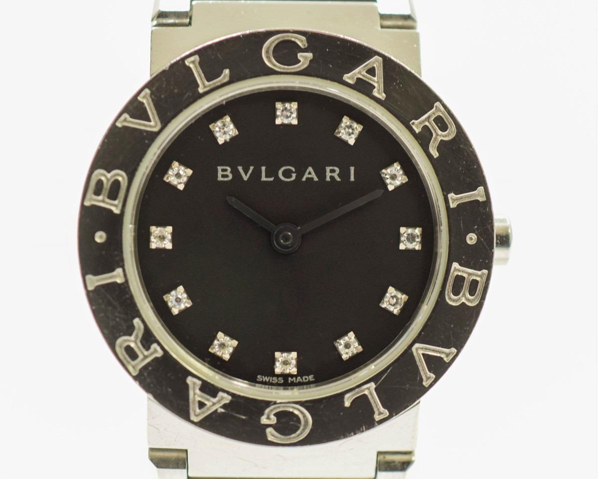 ブルガリ ブルガリ 12P ダイヤ SS QZ レディース 腕時計