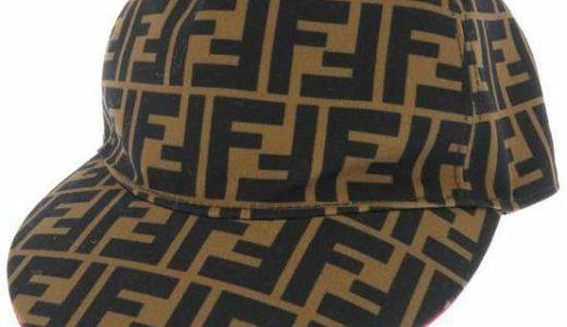 フェンディ、ズッカ柄の帽子
