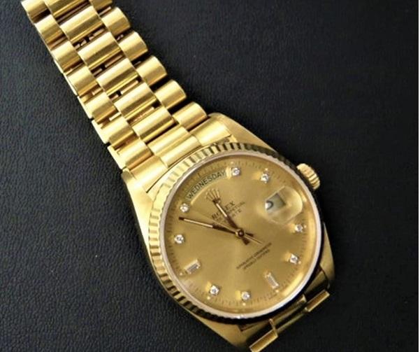 40年位前に毎日つけていた金のロレックス