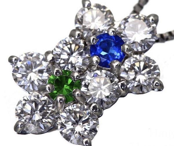 アウトナイト・デマインドガーネット・ダイヤモンド・Pt900・Pt850のネックレスの買取