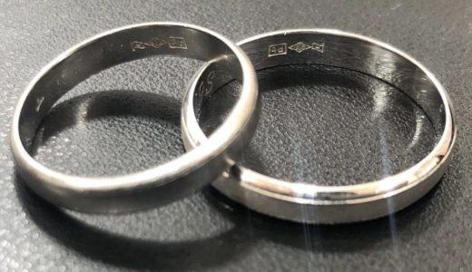 だいぶ前なんですが離婚して元妻が置いていったプラチナの結婚指輪<span  class=