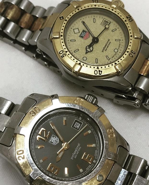 すっごく古くて電池も切れているタグホイヤーの時計を売りたいのですが大丈夫?